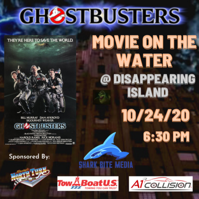 Movie night coming to Disappearing Island October 24th, 2020